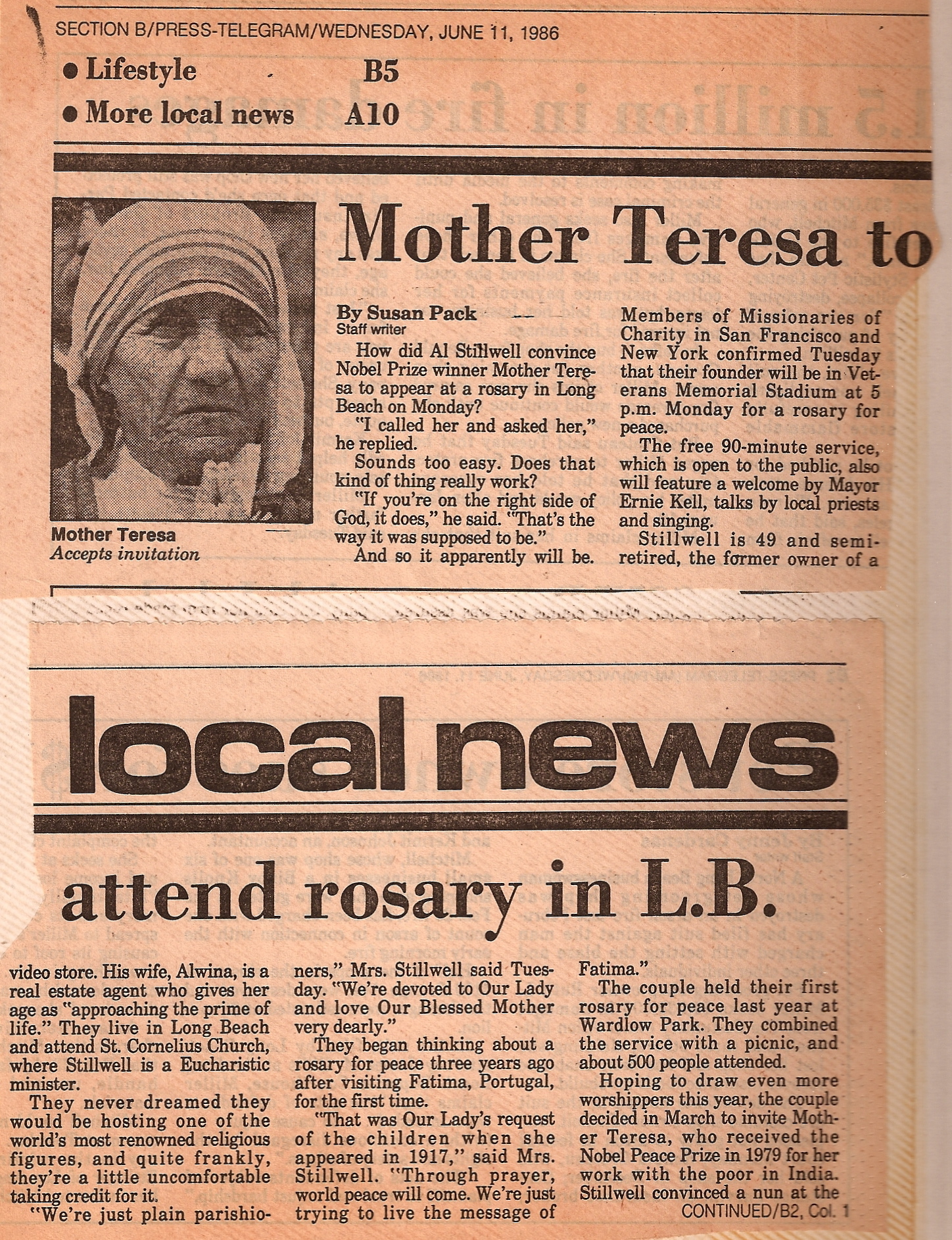 the life and ministry of mother teresa Mother teresa was a roman catholic religious sister who was known for her life- long vow of helping the poor she was born to roman.