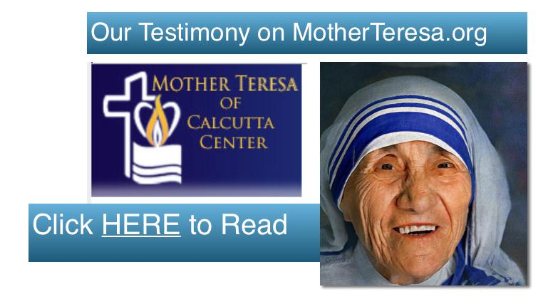 MotherTeresa.org