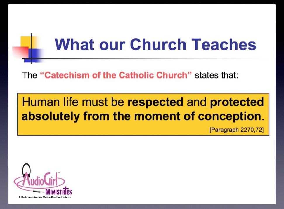 What Our Church Teaches