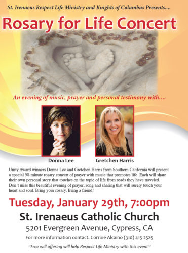 Rosary for Life Concert